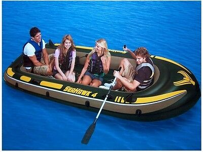 Intex 68351 Bote Inflable Seahawk 400 Set Completo - 338x127 cm Nuevo