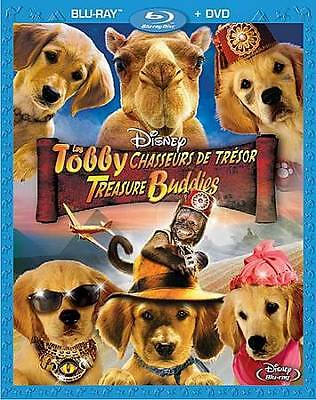 Treasure Buddies (Blu-ray/DVD, 2012, 2-Disc Set, Canadian; French) BRAND NEW