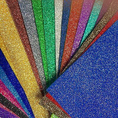 A4 Sheet Fine Glitter Fabric - High Quality - EN71 Certified - Perfect for bows