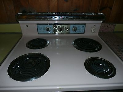 Antique Pink Stove