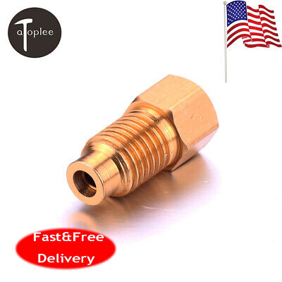 """R12 Hose to R134a Adapter Adaptor Convert  1/4"""" Female 1/2"""" ACME Male -US"""