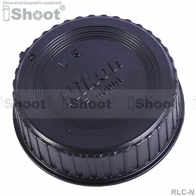 iShoot 5x Rear Cap Cover Protector - Installation Point for Nikon F Mount Lens