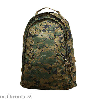 OPS / UR-TACTICAL EASY PACK, LOW PROFILE ASSAULT BACKPAC IN USMC WOODLAND MARPAT