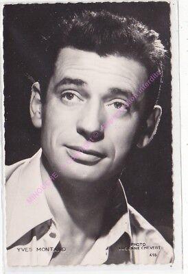 CPSM RPPC STAR YVES MONTAND PHOTO CHEVERT Edt KORES 455