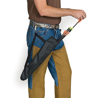 Hip Quiver - Mossy Oak SideKick Hip Arrow Quiver - With Belt Clip - Easy Access