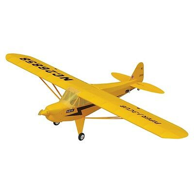 THE WORLD MODELS PIPER J-3 CUB EP Radio Control Airplane 3-cell