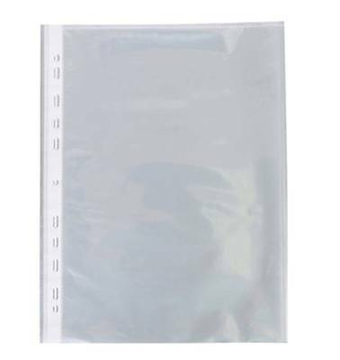 Sheet Protectors for A4 Paper Plastic PP Sticky Non-Reflective x 20 Pcs