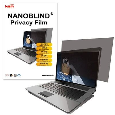 """13.3"""" inch 271mm x 203.5mm Privacy Screen Filter Film for LCD Laptop Notebook"""