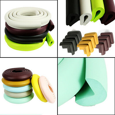 Elixir Extra Thick Baby Table Desk Edge Guard Protector/Bumpers+4 Corner Cushion