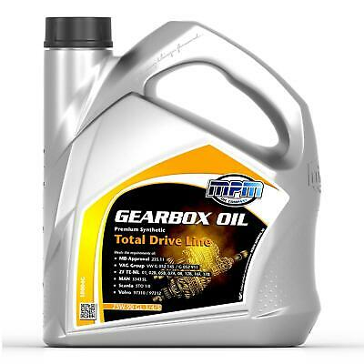 MPM Premium Gearbox Oil 75W90 GL-3/4/5 Fully Synthetic TDL 4L Total Drive Line