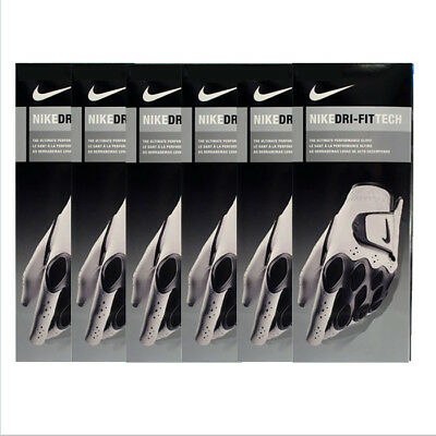 New Nike 2014 Dri-Fit Tech Men's Golf Gloves - *6-PACK* - Pick Size & Hand