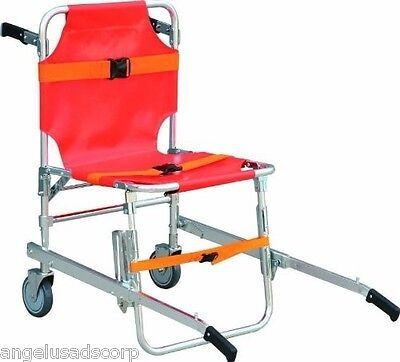 Medical Stair Stretcher Ambulance Wheel Chair New Equipment Emergency  FORZA4
