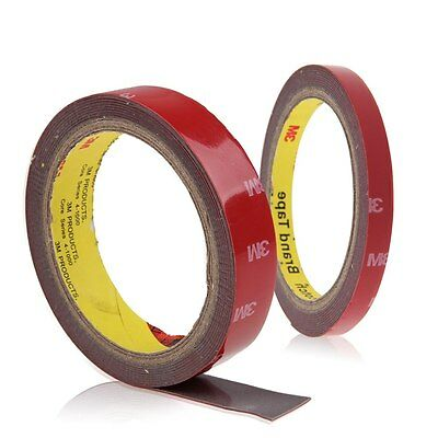 One Roll of 3M Auto Car Trunk Industrial Acrylic Foam Double Side Adhesive Tape