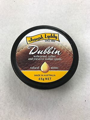 Waproo Dubbin Neutral Wax Polish 45g Waterproofs/Cleans Leather Shoes & Boots