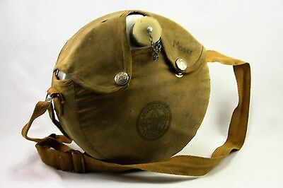 Vintage Official Boy Scouts of America Canteen-Aluminum w/ Canvas Holder BSA