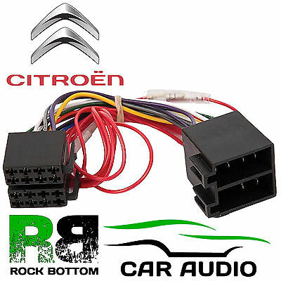 Citroen Berlingo 2001 On Car Stereo Radio ISO Harness Wiring Cable Lead PC2-32-4