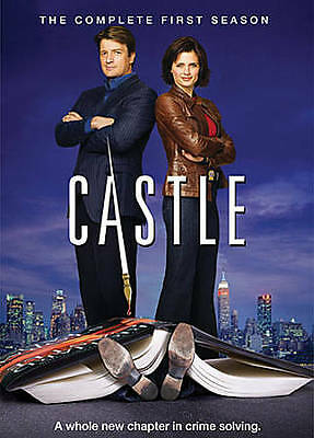 *Brand New* Castle: The Complete First Season (DVD, 2009, 3-Disc Set)