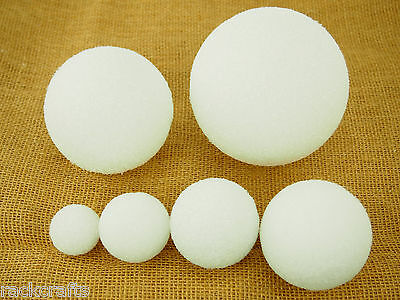 Styrofoam Polystyrene EPS Balls Spheres Round  Arts Crafts Wedding Baby Shower