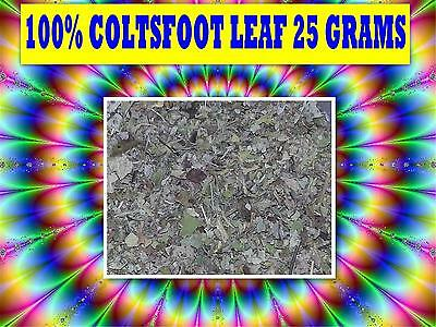 COLTSFOOT LEAF 25g TEA ☆100% FRESH Tussilago farfara☆RELAXATION☆DRIED HERB☆6