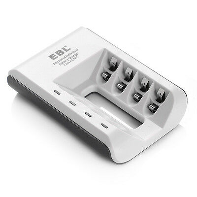 Automatic Charger With LED for 4x AA / 4x AAA Ni-MH / Ni-Cd Rechargeable Battery