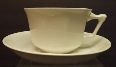 Adams English Ironstone - Micratex - White Cup and Saucer - England