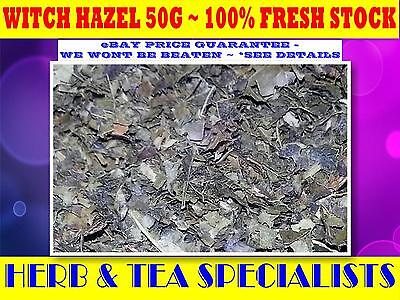 WITCH HAZEL 50g TEA☆Hamamelis virginiana☆DRIED HERB☆ PREMIUM STOCK