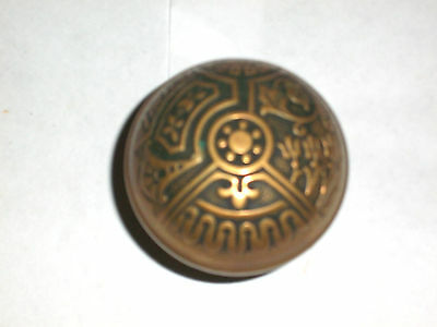Antique Eastlake Corbin B114 CEYLON  Vernacular  c. 1895 Door Knob 2""