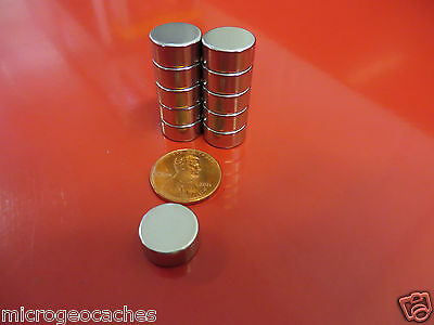 100 Large 1/2 x 1/4 inch Neodymium Disc Magnets Super Strong Rare Earth Magnet