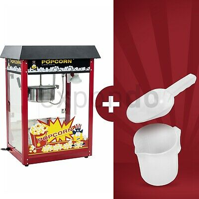 Machine A Popcorn Appareil A Pop Corn Cuiseur Pop-Corn Retro Professionnel Inox