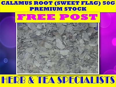 CALAMUS ROOT SWEET FLAG 50g☆ORGANIC☆DRIED HERB☆ PREMIUM STOCK☆FREE POST