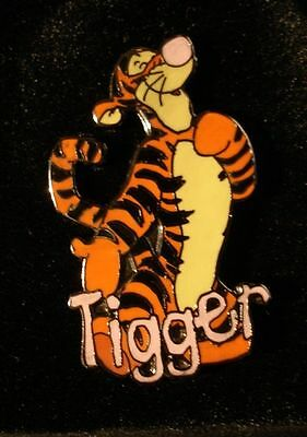 Disney Pin Winnie the Pooh & Friends Name Series Tigger Pin