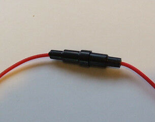 In Line Fuse Holder 5X20Mm Fuse Link Wired Pre Tinned Loom Making Kit Car Wiring