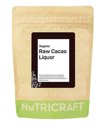 500g CACAO / COCOA LIQUOR (paste, mass) (organic)  - make your own chocolate -