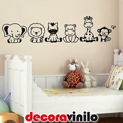 Vinilo decorativo pared infantil vaca luna en stickers Vinilos de pared infantiles