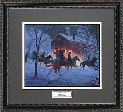 Mort Kunstler THE FAIRFAX RAID Framed Print Civil War Wall Art Gift