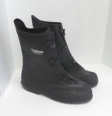 """New LaCrosse Gator Rubber Overboots Waterproof 12"""" 3 Buckle USA Made Sizes 7-16"""