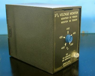 Abb Plm9405 Voltage Monitor 400-480V Nos No Box