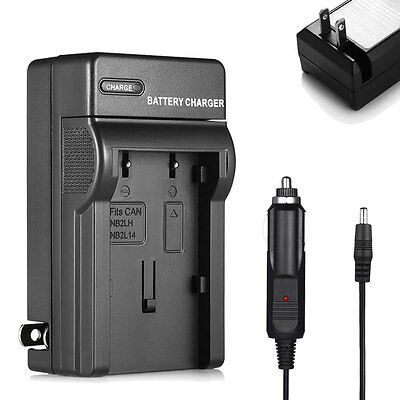 NB-2LH NB-2L Battery Charger For Canon EOS 350D 400D Rebel XT XTi Camera BP-2L12