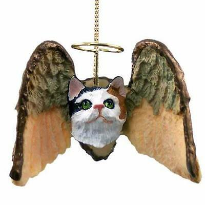 CHAH05 Calico Shorthaired Angel Hanging