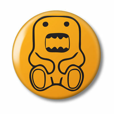 WARNING DOMO Sticker - Classic Japanese Radio Game 10cm x 9cm Decal