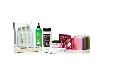 Hive Of Beauty Waxing Mini Multi Pro 3 Chamber Roller Heater Hair Remove Kit