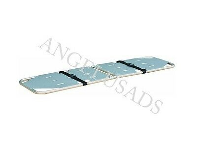 New Medical Emergency Folding Portable Stretcher Aluminum Mobile Sport Camilla
