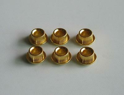 Gold METAL Guitar Conversion Bushings Adapter Ferrules for Vintage Tuning Keys