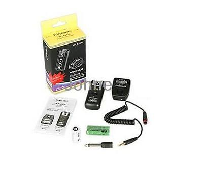 YONGNUO RF-602 2.4GHz Wireless Flash Trigger with Studio Cord for Nikon