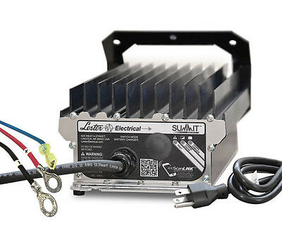 On Board 48 Volt Battery Charger 5/16 Ring Lester Summit Series