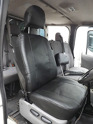 Mercedes Vito Van Drivers Single  Seat Cover- Made to Measure PVC Leather