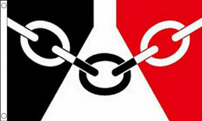 5' x 3' Black Country Flag Wolverhampton West Bromwich Midlands Sandwell Banner