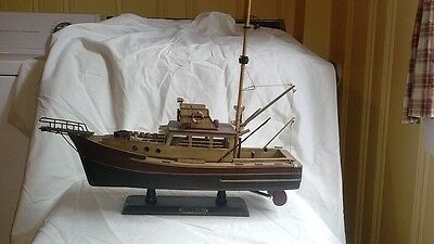 Handcrafted Model Ships Orca from Jaws
