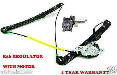 Bmw E46 3 Series Front Right/left Window Regulator With Motor 318I 320I 323I Etc