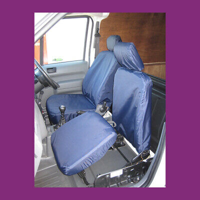 Ford Transit Connect Van 2002-14 Navy Blue Tailored Waterproof Seat Covers
